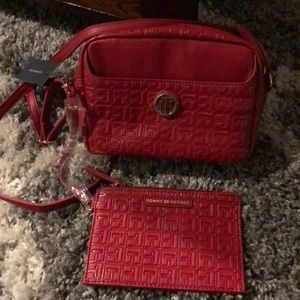 Tommy Hilfiger ladies small xbody bag and wallet